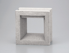 組積用コンクリートブロックオプション「ガラスブロック」カレ_mikage