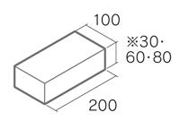 舗装用コンクリートブロック「ノーマルインター」B3-N1/B6-N1/B8-N1