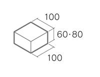 舗装用コンクリートブロック「ノーマルインター」B6-N2/B8-N2
