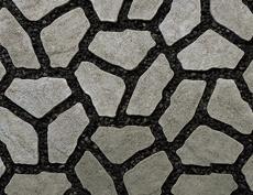 舗装用コンクリートブロック「ナティア」グレー