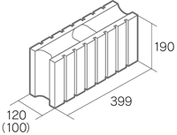 「ラグゼ12」7L基本横筋兼用型