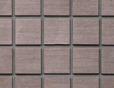 舗装用天然石材「フェアリーストーン」ラフキューブ/ラシーヌブラウン