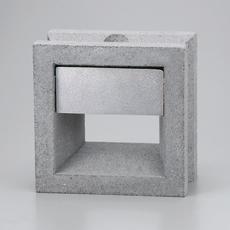 組積用コンクリートブロックオプション「スケルキューブライト」ミカゲ