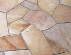 舗装用天然石材「セルバストーン クレイギー」セルバピンク