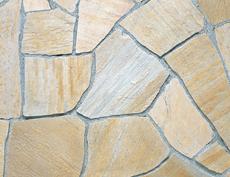 舗装用天然石材「セルバストーン クレイギー」セルバイエロー
