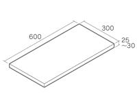 6030 フェアリーラスティック・フェアリーグレー・フェアリーブラック形状図