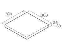 3030 フェアリーラスティック・フェアリーグレー・フェアリーブラック形状図