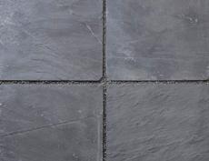 舗装用天然石材「フェアリーストーン」スクエア/フェアリーブラック