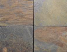 舗装用天然石材「フェアリーストーン」スクエア/フェアリーラスティック