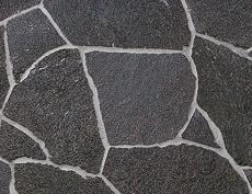 舗装用天然石材「フェアリーストーン クレイギー」スマートブラック