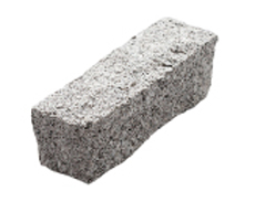 舗装用天然石材「トラッドストーン」三丁掛ベトナム産白