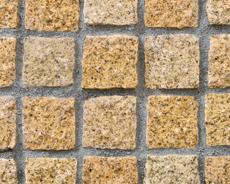 舗装用天然石材「トラッドストーン」小舗石ベトナム産サビ