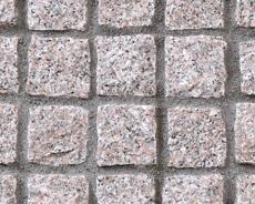舗装用天然石材「トラッドストーン」小舗石ベトナム産桜