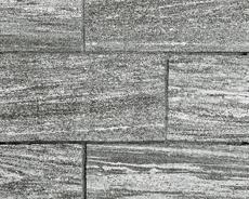舗装用天然石材「トラッドストーン」敷石中国産クロウグレー