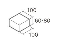 舗装用コンクリートブロック「彩りインター」B6-N2・B8-N2