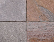 舗装用天然石材「クリストミックス」3030