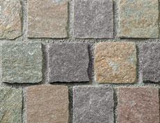 舗装用天然石材「ナゴミストーン」ラフキューブ