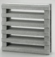組積用コンクリートブロックオプション「スケルキューブ400」格子