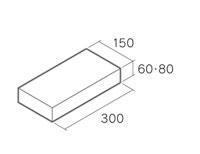 舗装用コンクリートブロック「遮熱透水性インター」3015