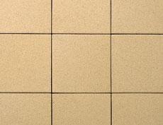 舗装用コンクリートブロック「遮熱透水性インター」オレンジ