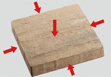 舗装用コンクリートブロック「バレリア」ステップ