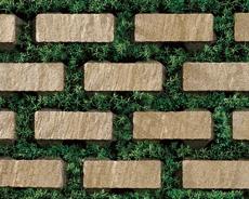 舗装用コンクリートブロック「アルテアGタイプ」イエロー