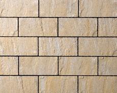 舗装用コンクリートブロック「アルテア Nタイプ」イエロー
