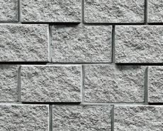 組積用コンクリートブロック「ルアートエッジ」グレー