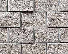 組積用コンクリートブロック「ルアートエッジ」アイボリー