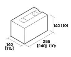組積用コンクリートブロック「ルアートエッジ」コーナー型