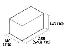 組積用コンクリートブロック「ルアートエッジ」天端コーナー型