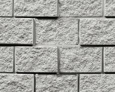 組積用コンクリートブロック「ルアートエッジ」ライトグレー