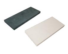 組積用コンクリートブロック「MAXAZ セラフィス ストーンタイプ」笠木ブラックセサミ/ホワイトサンド