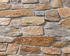 外装用天然石材パネル「クォーツストーン・ウォール」クォーツブラウン