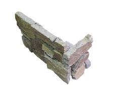 外装用天然石材パネル「インテグストーン・スタック」壁端部の処理