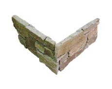 外装用天然石材パネル「インテグストーン・スタック」コーナー部の処理