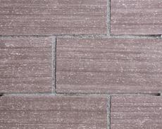 舗装用天然石材「フェアリーストーン」ラフスクエア/ラシーヌブラウン