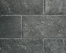 舗装用天然石材「フェアリーストーン」ラフスクエア/スマートブラック