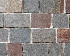 舗装用天然石材「スプラッシュストーン」スクエア