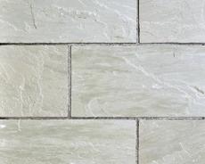 舗装用天然石材「ヨーガストーン」ラフスクエア・サンドクリフ