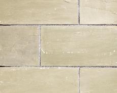 舗装用天然石材「ヨーガストーン」ラフスクエア・サンドマーシュ