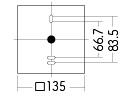 コーディネート表札灯・門柱灯兼用タイプ