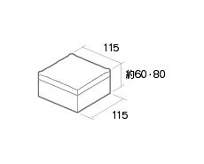 舗装用コンクリートブロック「カッシア」115